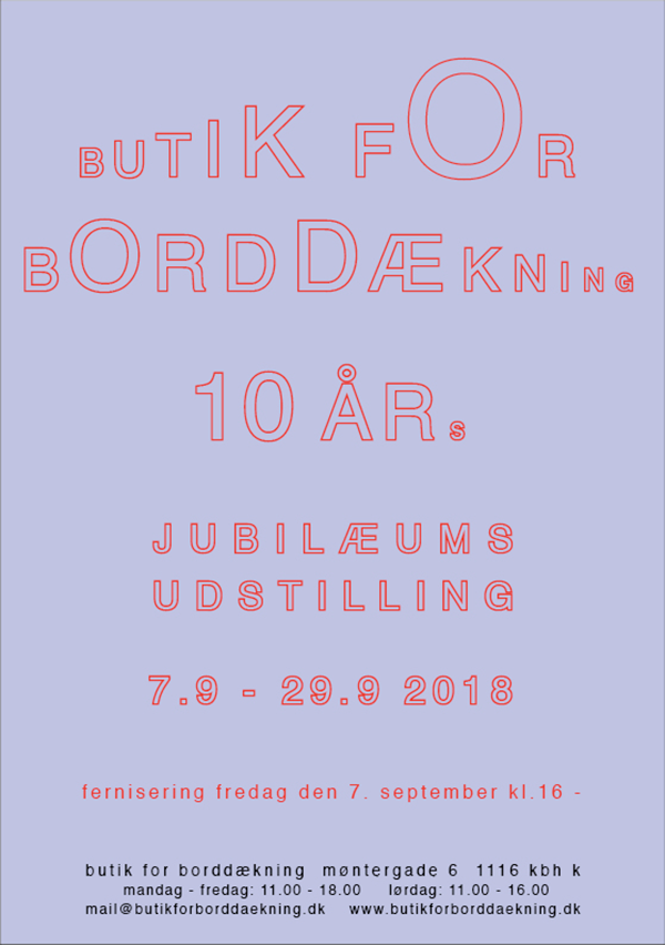 Butik for Borddækning